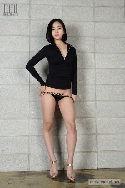 [Korean Girls] GAYEONG 가영 Vol.1 Black Rose Nude Girls 5