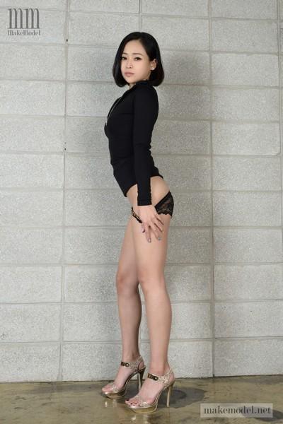 [Korean Girls] GAYEONG 가영 Vol.1 Black Rose Nude Girls 6