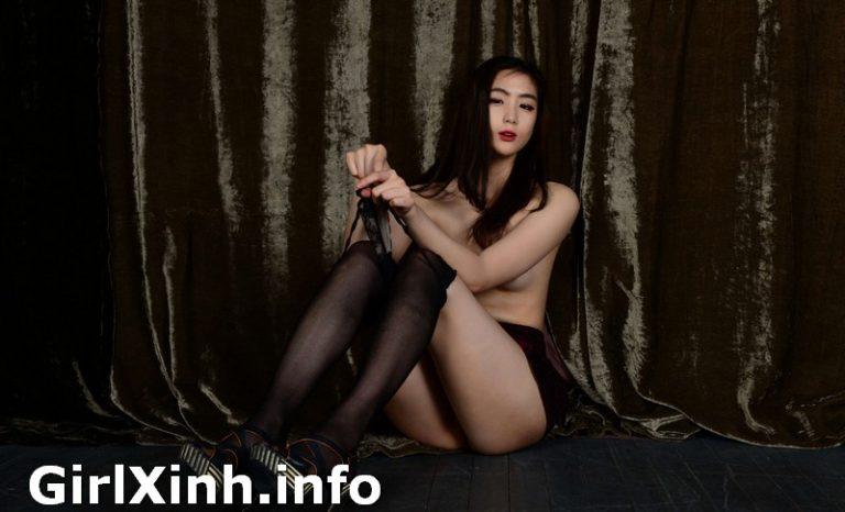 [Korean Girls] EUNJEONG 은정 Vol.1 Black Nude Sexy Girls