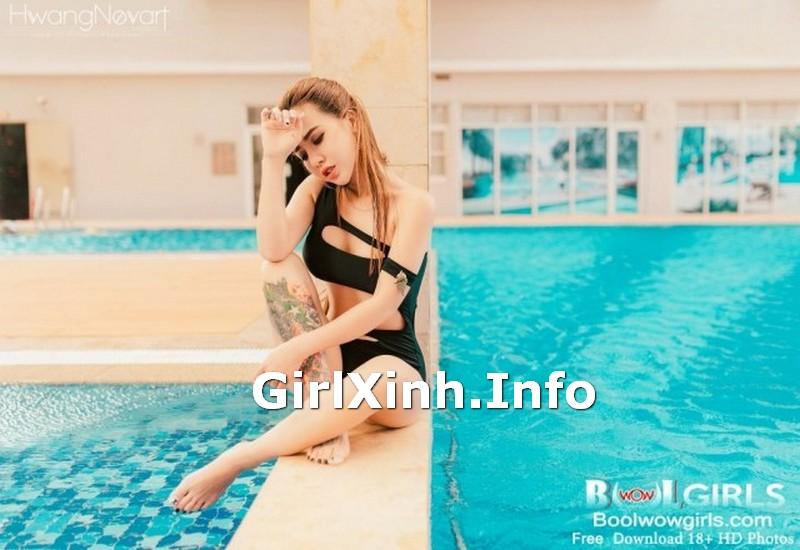 Vietnamese Girls Vol.10 Touching Glamorous Model 5