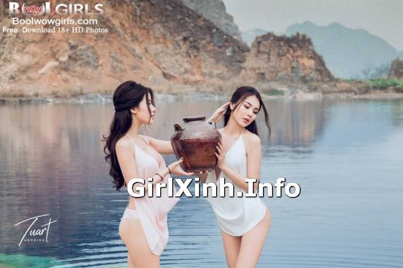 Vietnamese Girls Vol.12 Touching Glamorous Model 14