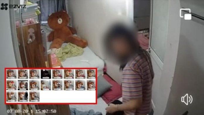 2 chị em bé Vy bị hack camera